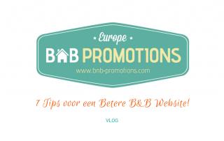 7 Tips voor een Betere B&B Website