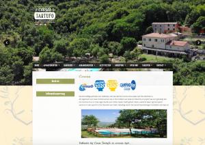 Casa Tartufo   Website design
